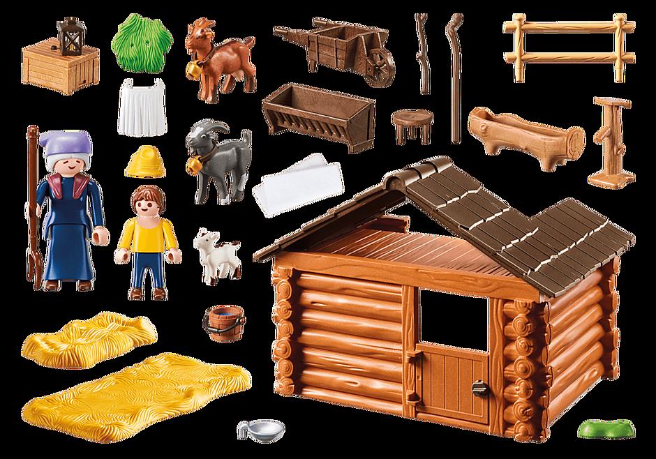 70255 Peter avec étable de chèvres  detail image 4