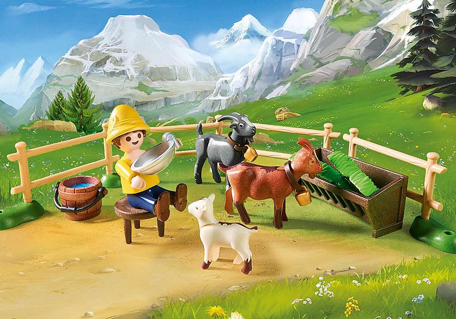 70255 Peter avec étable de chèvres  detail image 5