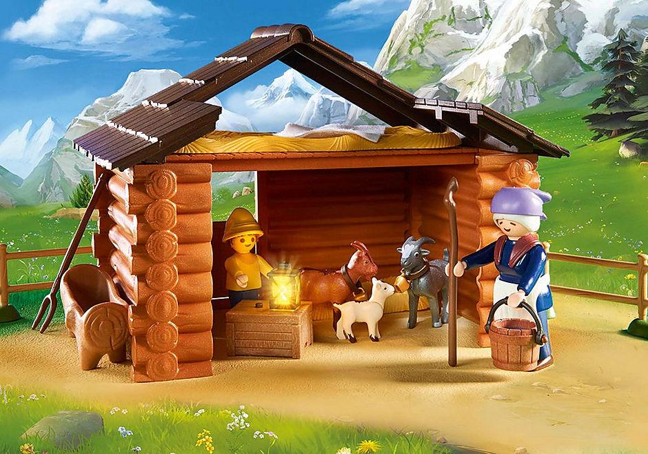 70255 Peter met grootmoeder bij de geitenstal detail image 6