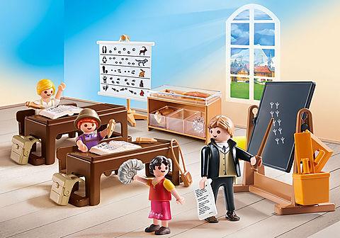 70256 Schulunterricht im Dörfli