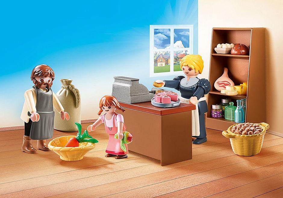 70257 Familien Kellers landsbybutik detail image 1