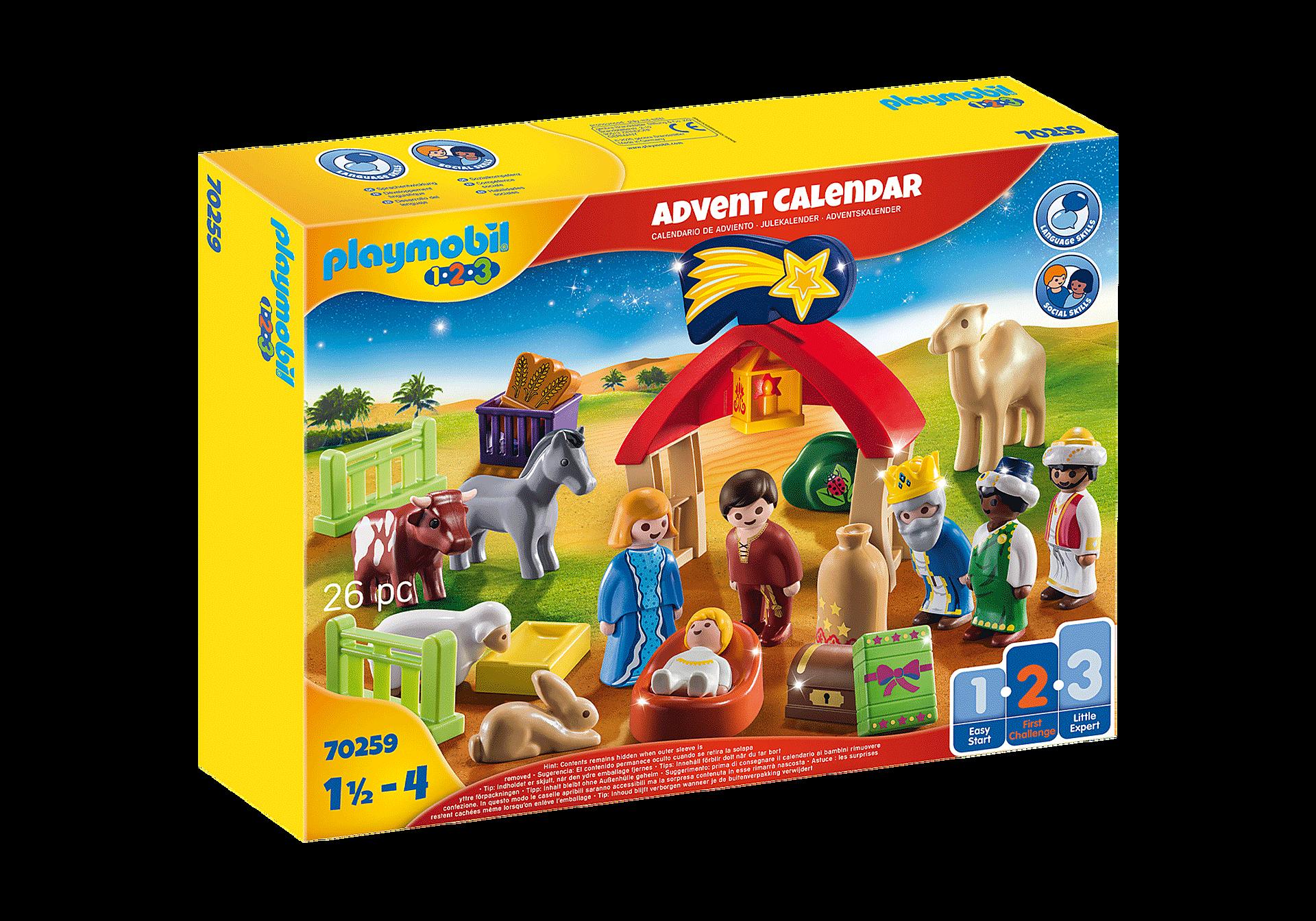 70259 1.2.3 Advent Calendar - Christmas Manger zoom image2