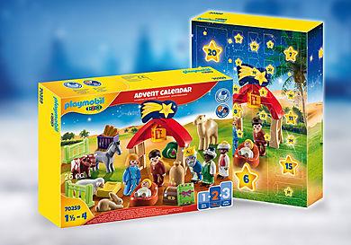 70259 1.2.3 Advent Calendar - Christmas Manger