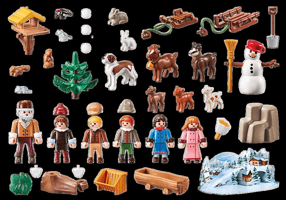70260 Advent Calendar - Heidi's Winter World detail image 3