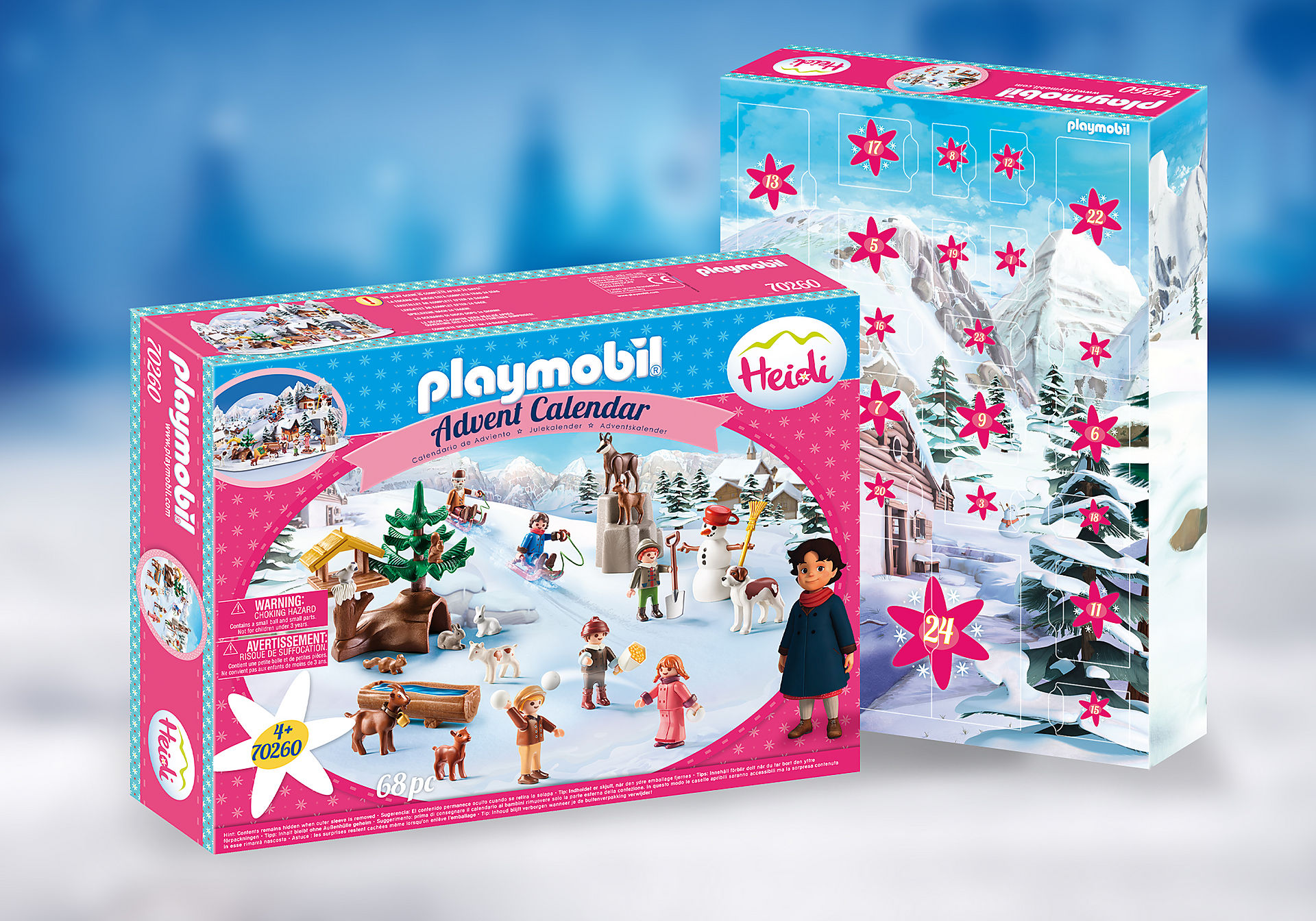 70260 Advent Calendar - Heidi's Winter World zoom image1