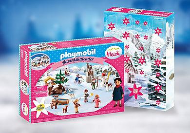 70260 Calendario de Adviento el Mundo de Invierno de Heidi