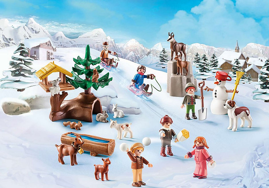 70260 Adventskalender Heidis Winterwelt detail image 5