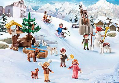 70261 Heidi e il paesaggio invernale