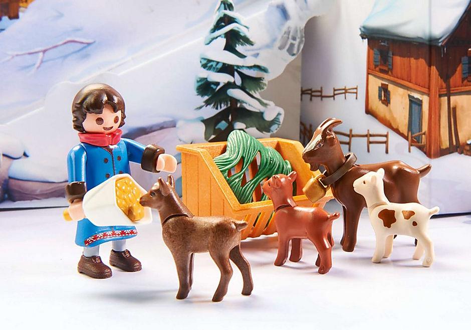 70261 Heidi e il paesaggio invernale detail image 4
