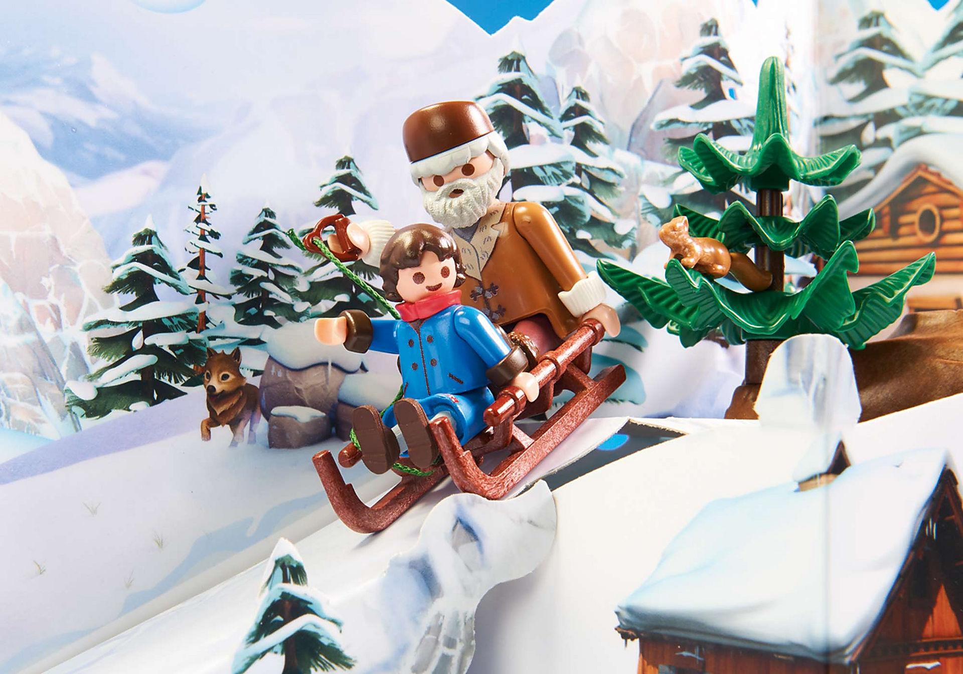 70261 Heidi e il paesaggio invernale zoom image5