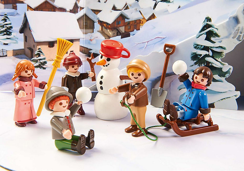 70261 Heidi e il paesaggio invernale detail image 6