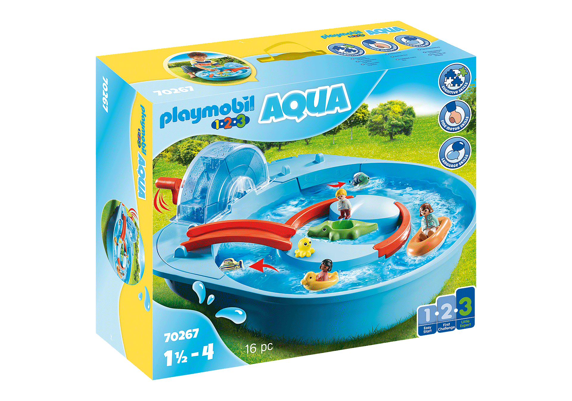 70267 Μεγάλο Aqua Park με νερόμυλο zoom image2