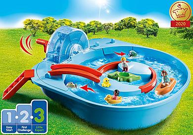 70267 Μεγάλο Aqua Park με νερόμυλο