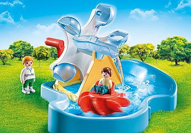 70268 Waterrad met carrousel