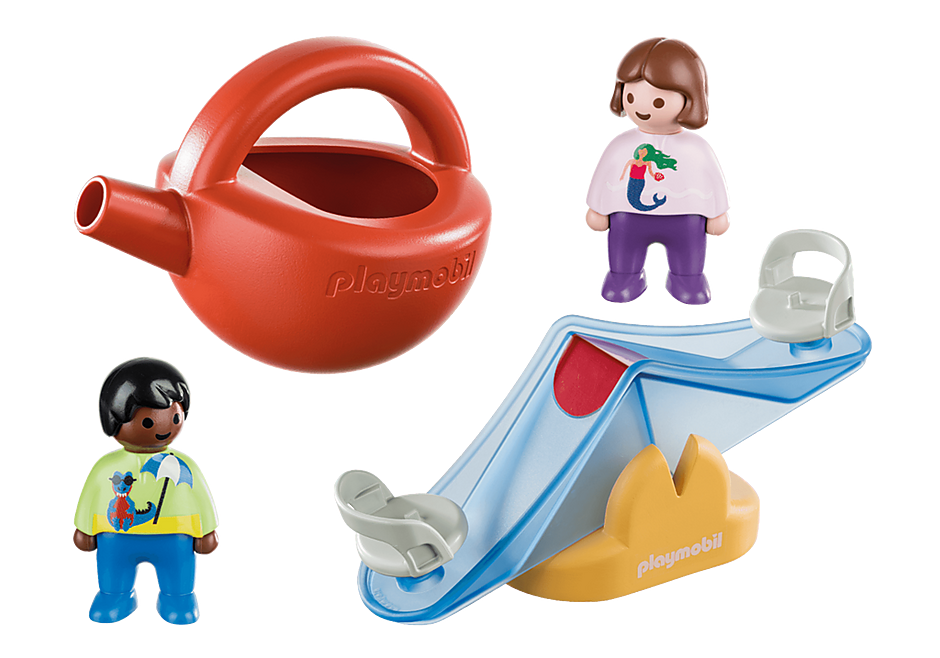 70269 Water Seesaw with Watering Can detail image 3