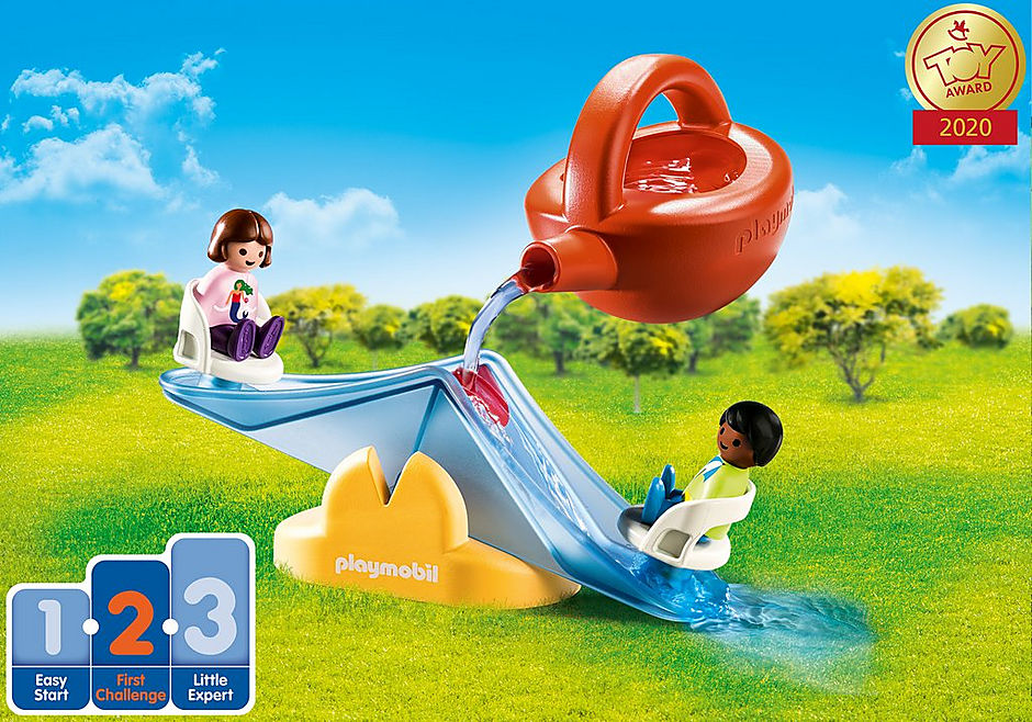 70269 Water Seesaw with Watering Can detail image 1