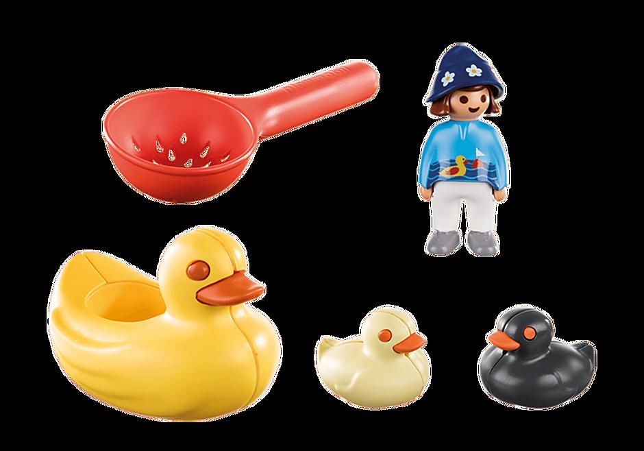 70271 Famille de canards et enfant detail image 3