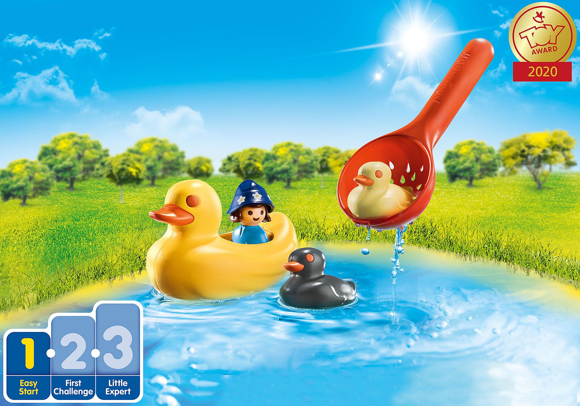70271 Famille de canards et enfant zoom image1