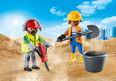 70272 Construction Workers