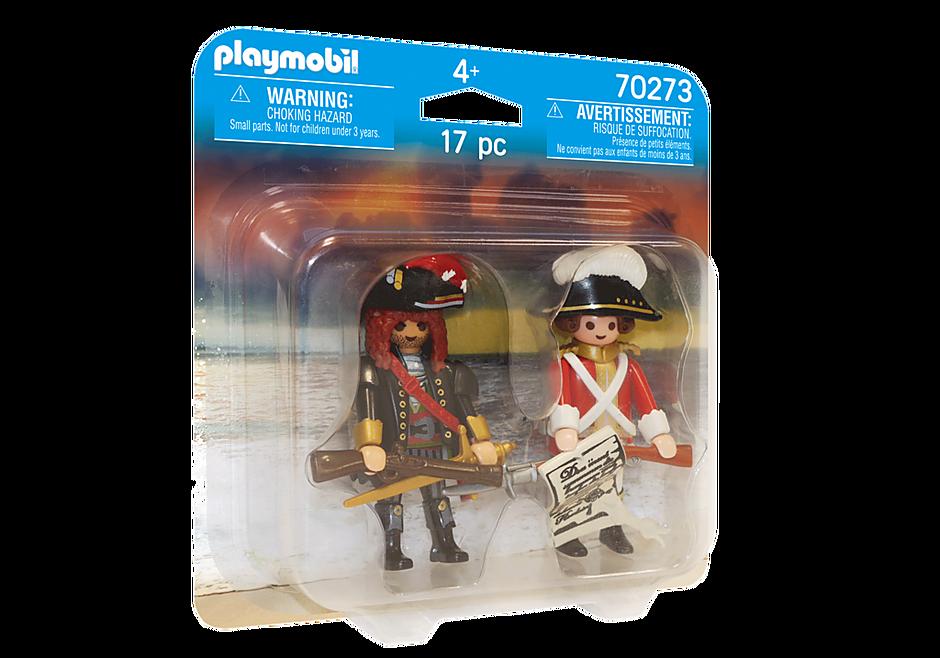 70273 Capitaine pirate et soldat detail image 2