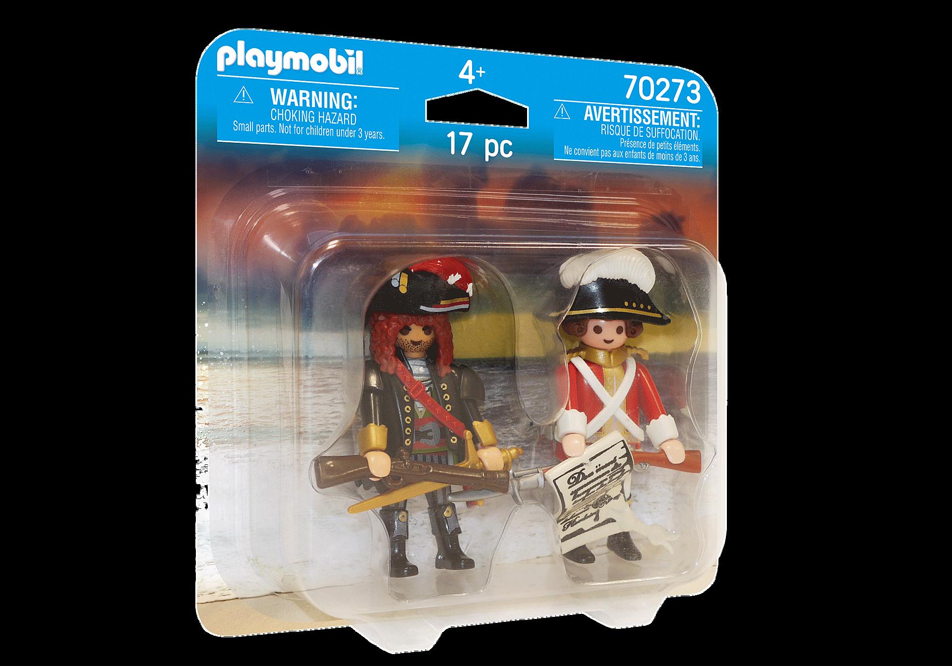 70273 Capitaine pirate et soldat zoom image2
