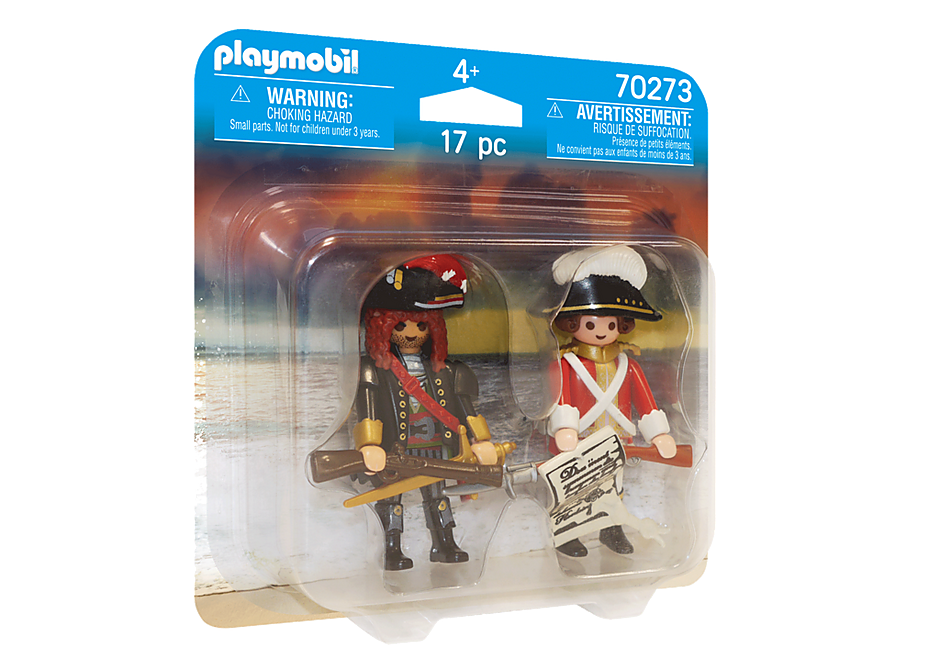 70273 Capitaine pirate et soldat detail image 2