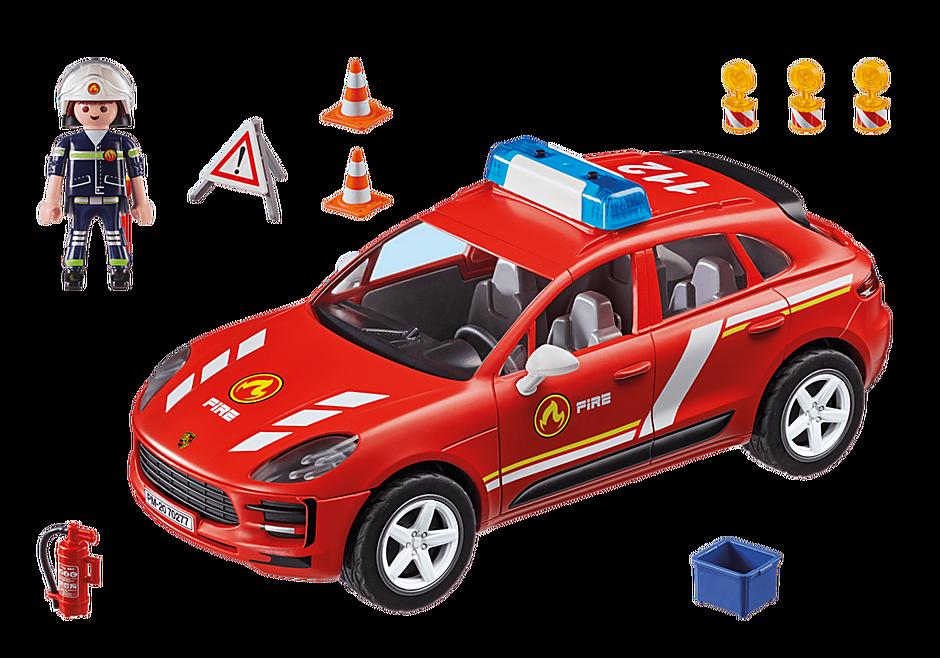 70277 Porsche Macan S Feuerwehr detail image 3