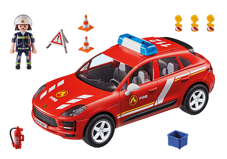70277 Porsche Macan S brandkår detail image 3
