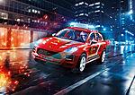 70277 Porsche Macan S brandkår