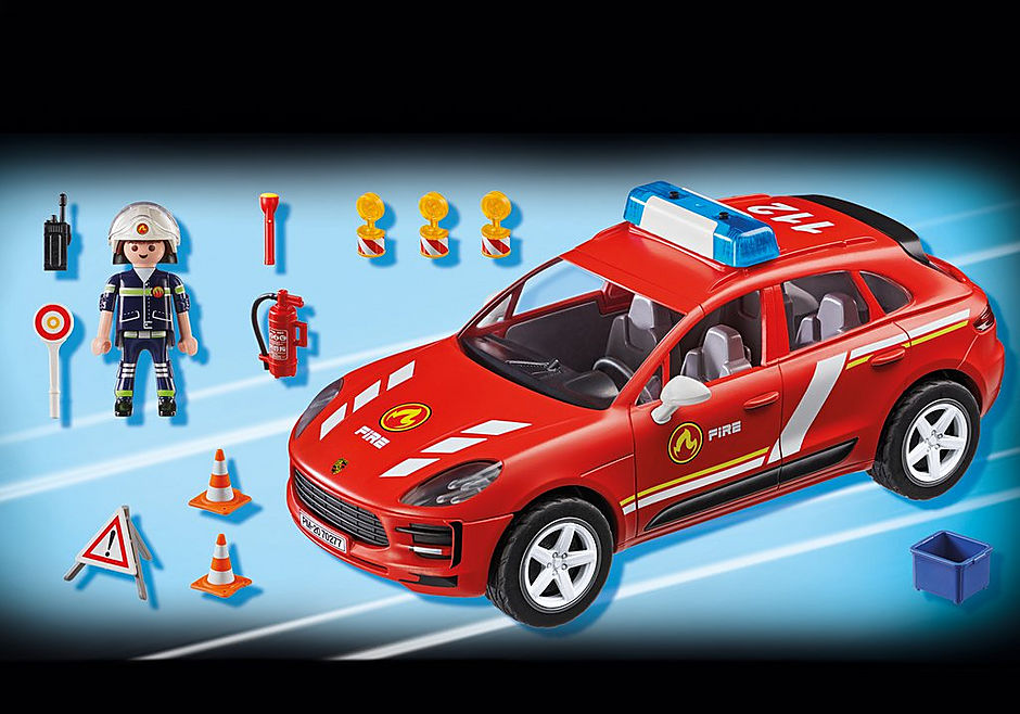 70277 Porsche Macan Fire Brigade detail image 4