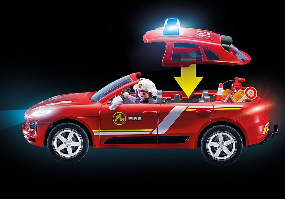 70277 Porsche Macan S Fire Brigade detail image 6