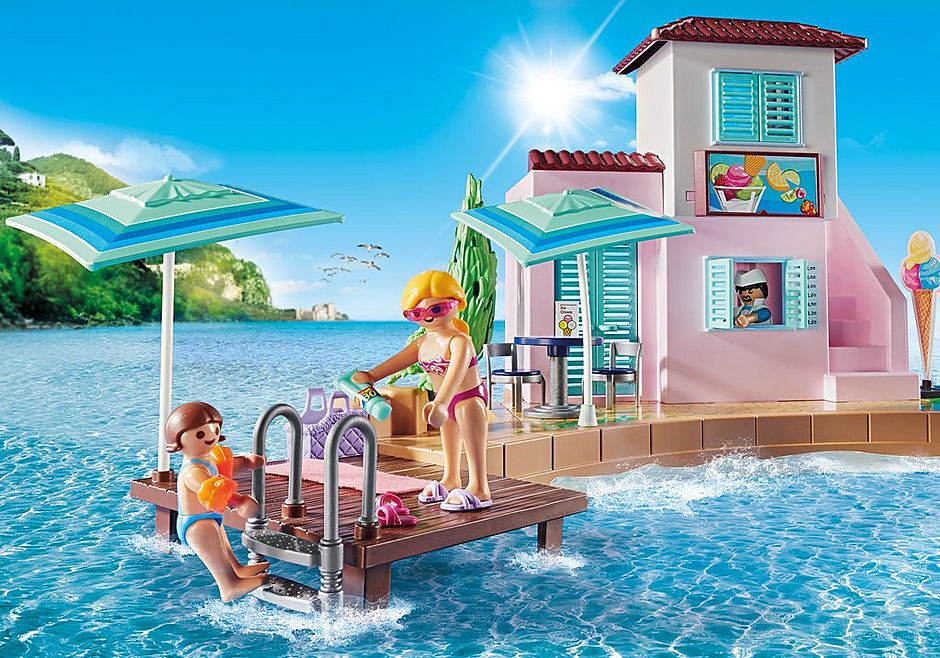 70279 Waterfront Ice Cream Shop detail image 4