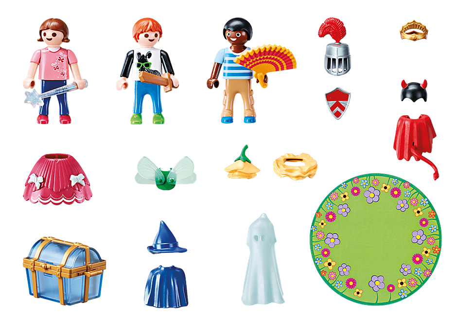 70283 Kinder mit Verkleidungskiste detail image 3