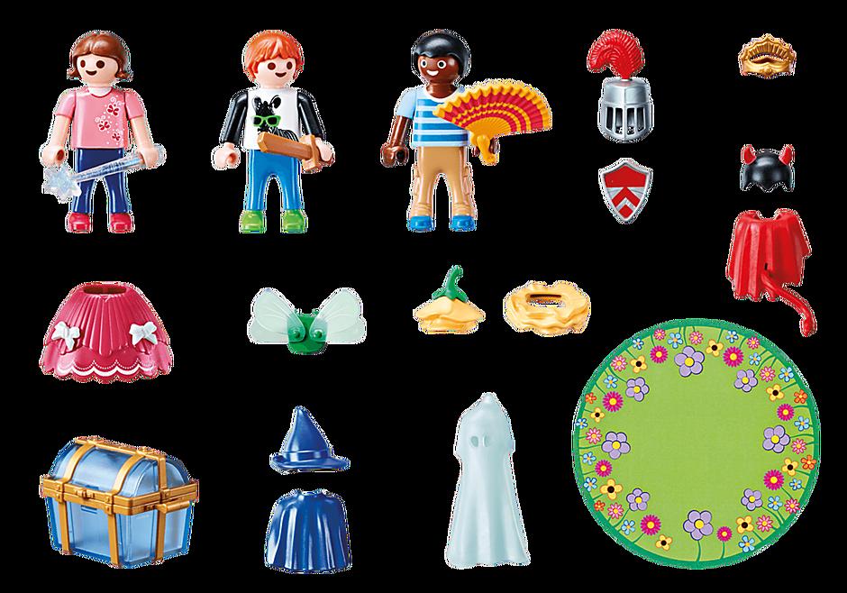 70283 Kinderen met verkleedkoffer detail image 3