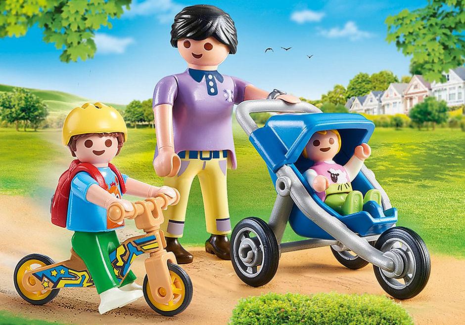70284 Mama met kinderen detail image 1