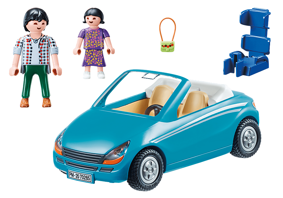 70285 Family with Car detail image 3