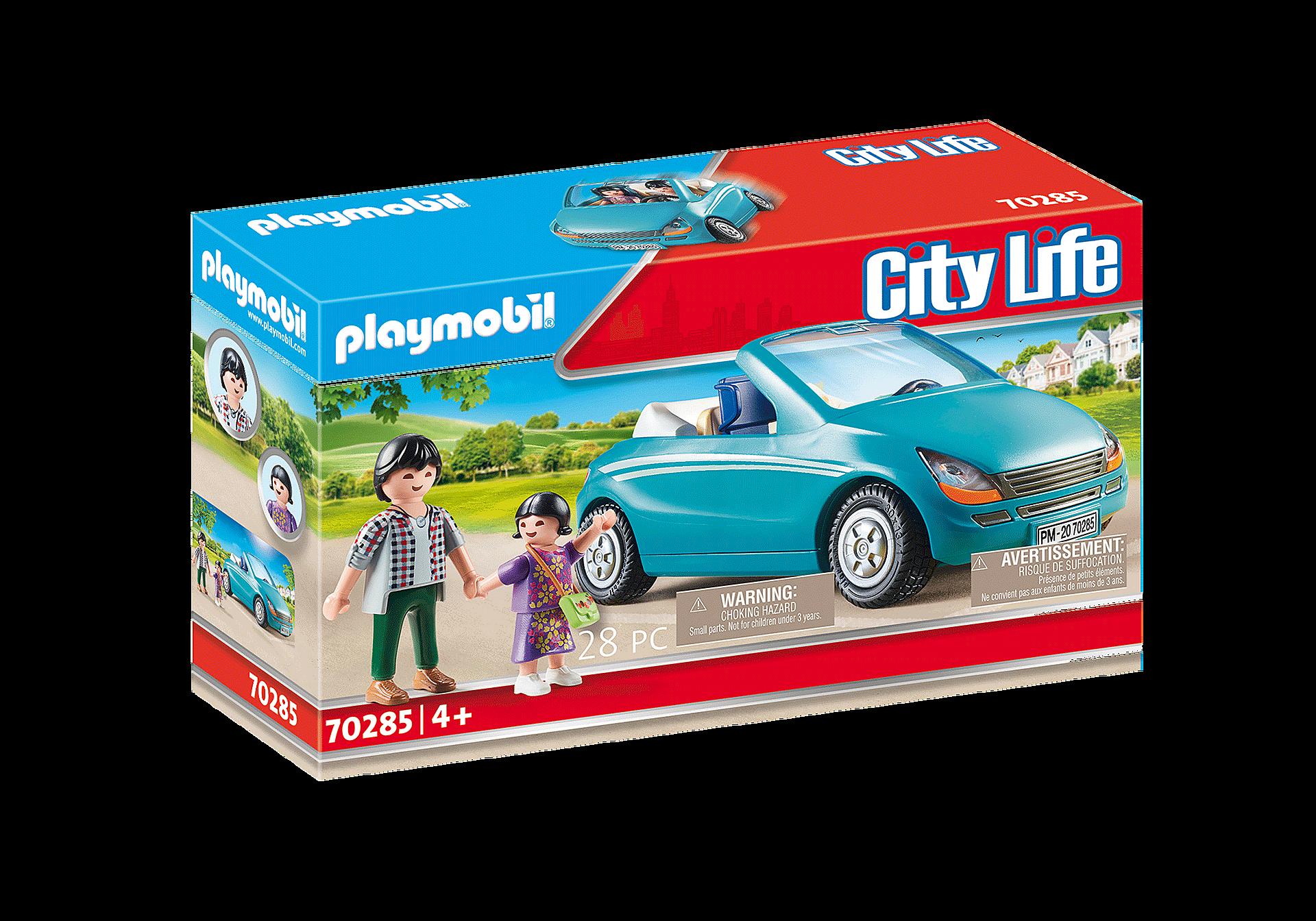 70285 Isä, lapsi ja avoauto zoom image3