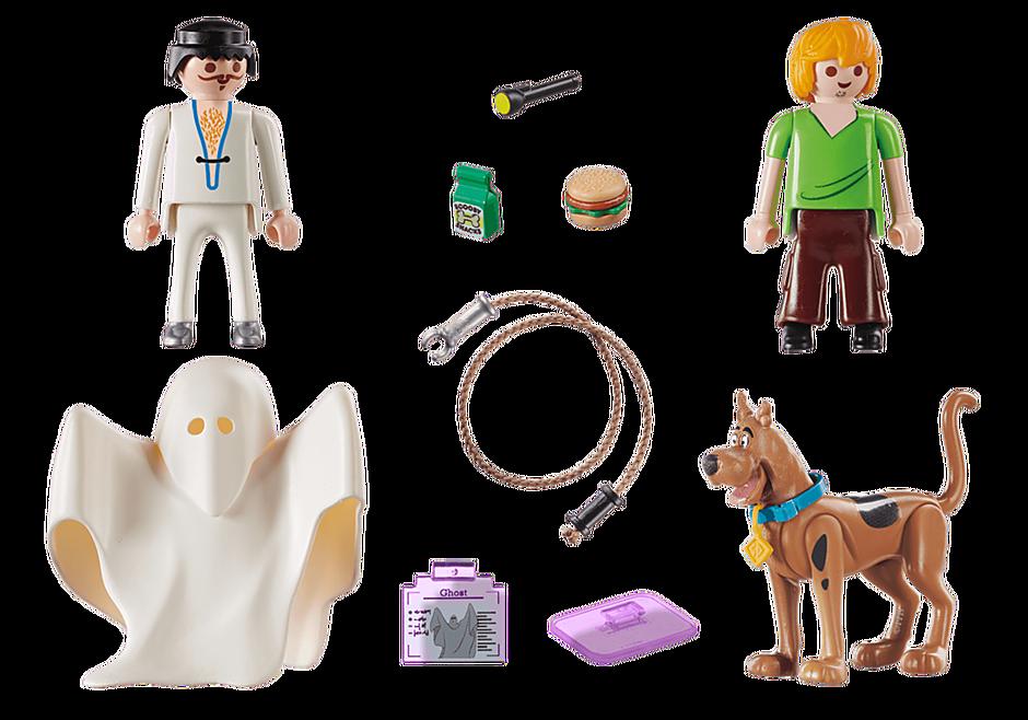 70287 SCOOBY-DOO! Scooby en Shaggy met geest detail image 3