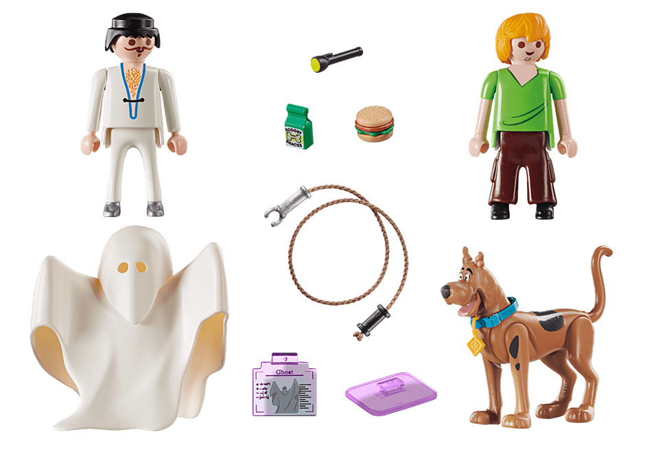70287 SCOOBY-DOO Scooby et Shaggy con Fantasma detail image 4