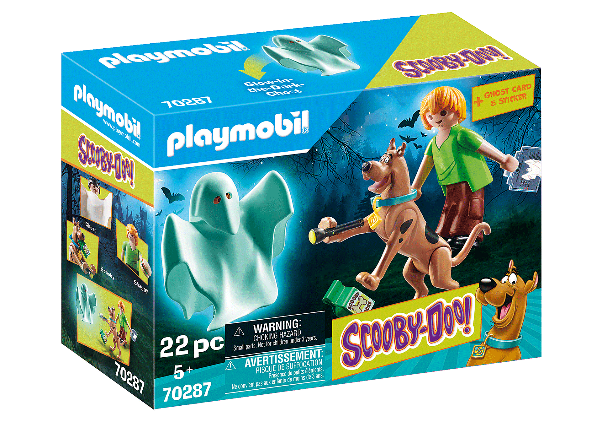 70287 SCOOBY-DOO! Scooby et Sammy avec fantôme  zoom image2