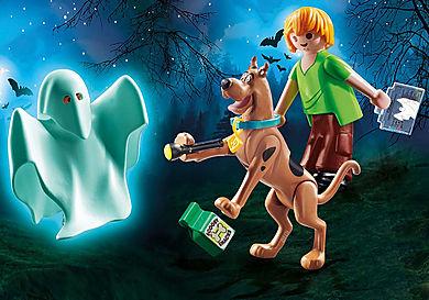 70287 SCOOBY-DOO! Scooby et Sammy avec fantôme