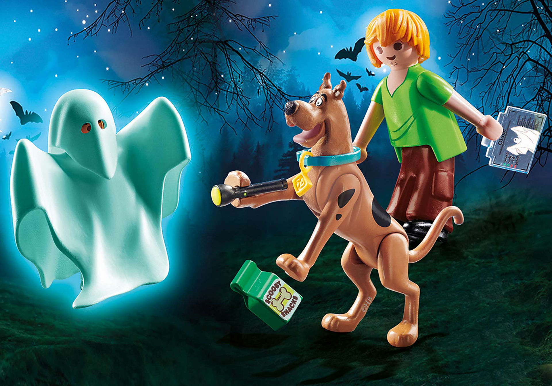70287 SCOOBY-DOO! Scooby et Sammy avec fantôme  zoom image1