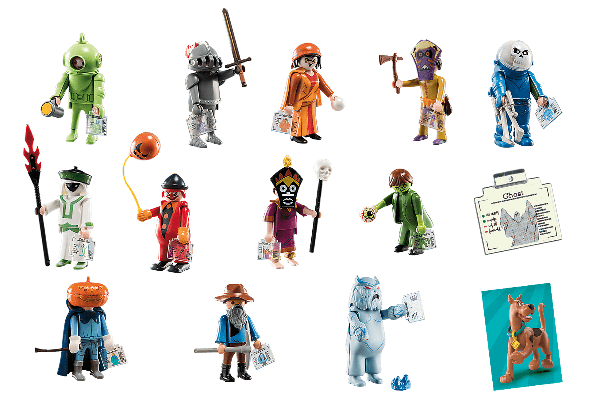 70288 SCOOBY-DOO! Mystery Figures (Series 1) zoom image3
