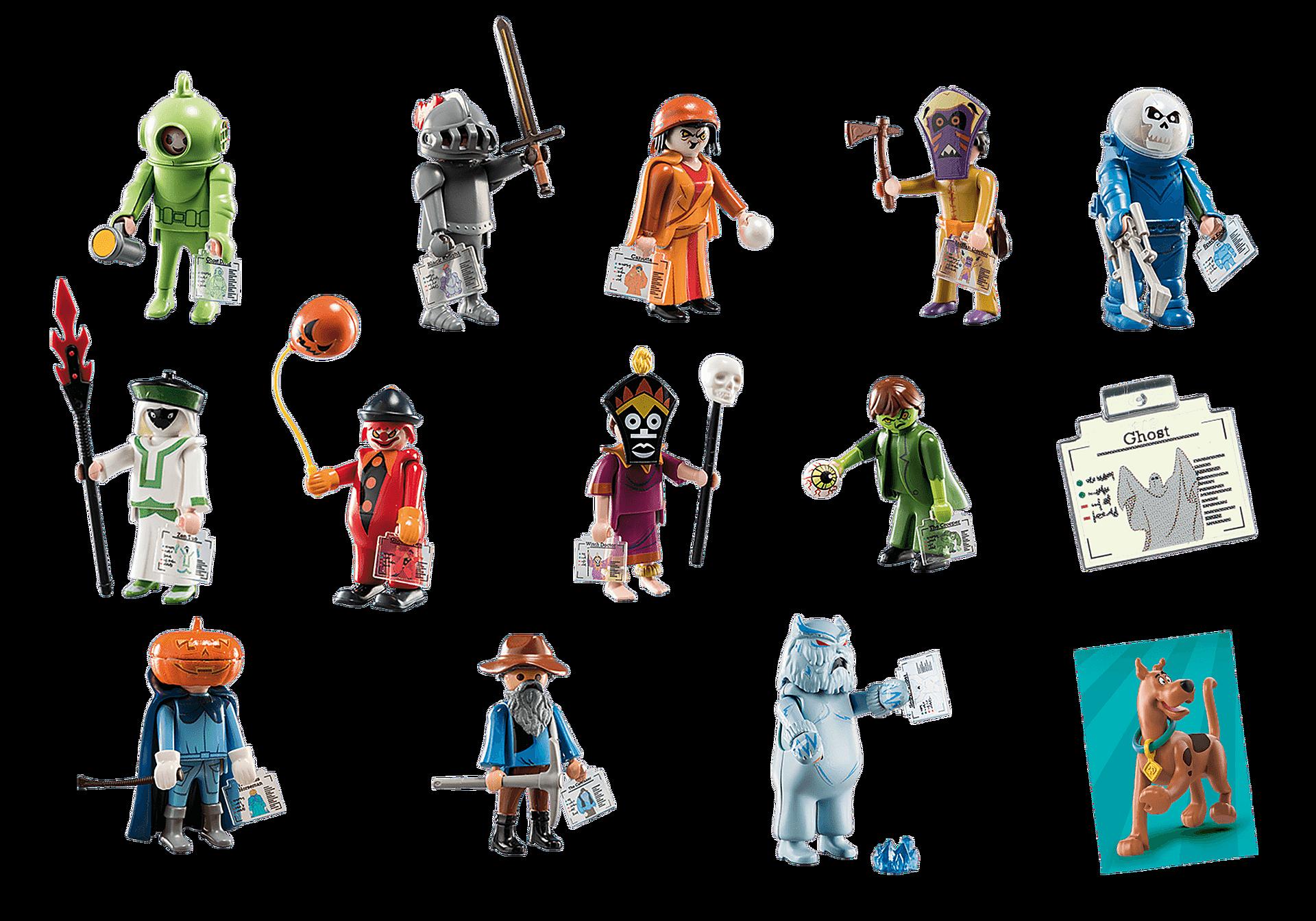70288 SCOOBY-DOO! Mystery Figures (Series 1) zoom image4