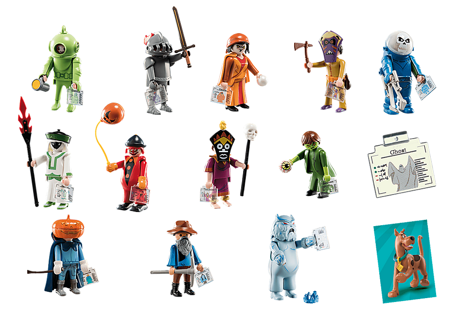 70288 SCOOBY-DOO! Mystery Figures (Series 1) detail image 3