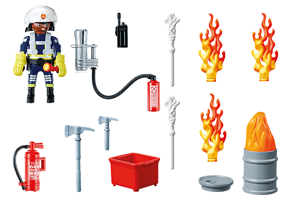 70291 Set cadeau Pompier detail image 3