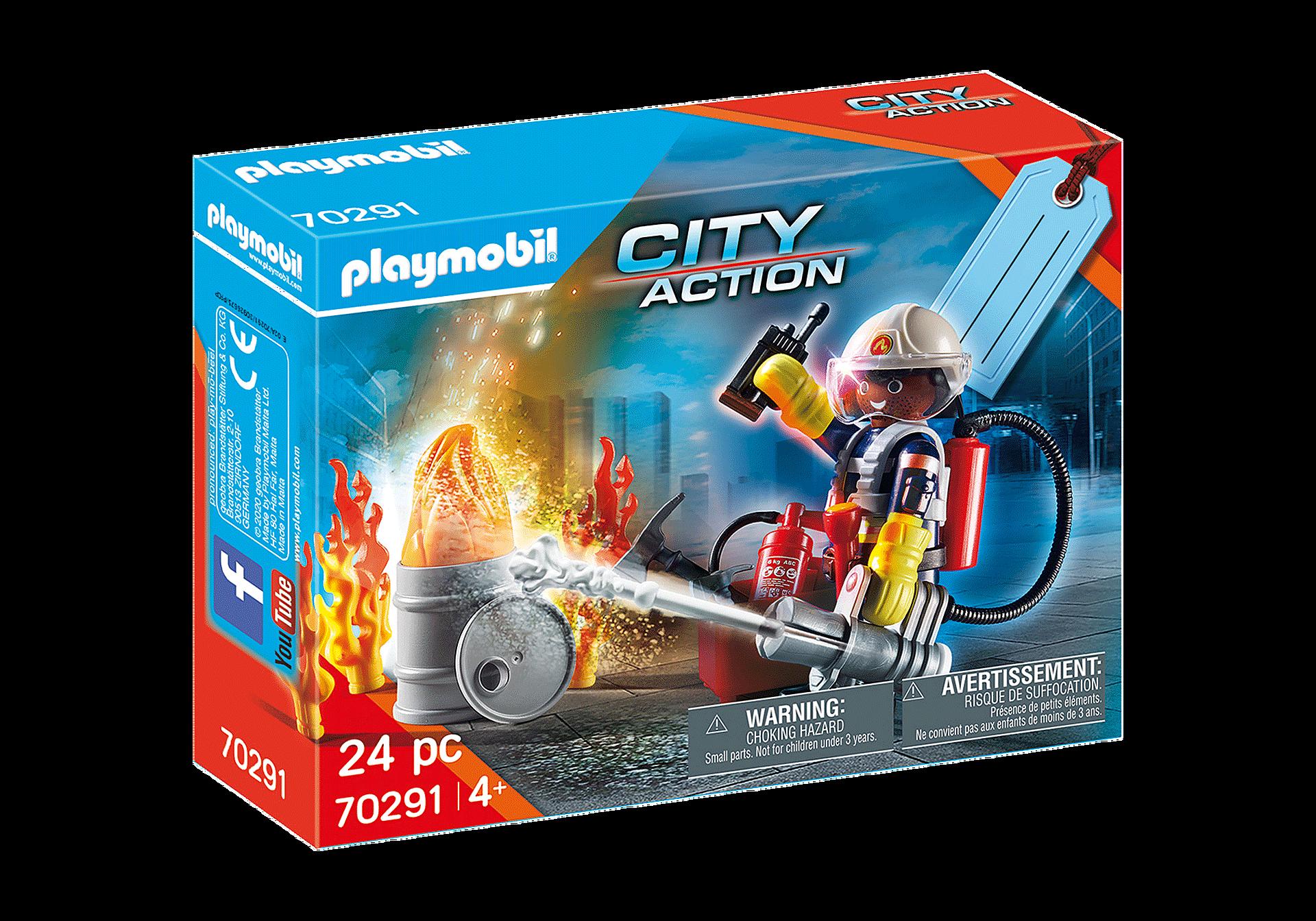 70291 Set cadeau Pompier zoom image2