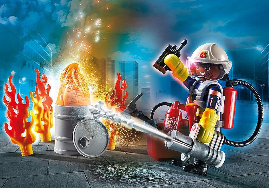 70291 Set cadeau Pompier detail image 1