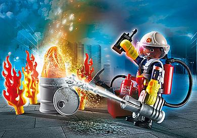 70291 Set cadeau Pompier