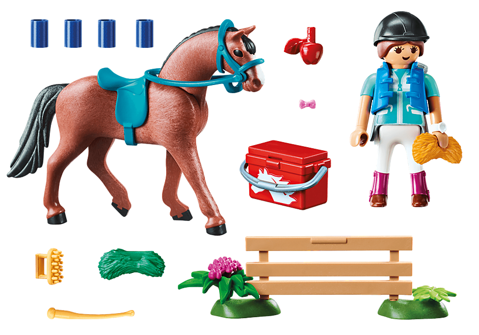 70294 Horse Farm Gift Set detail image 3